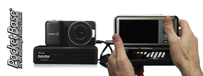 Switronix Pocketbase for the Pocket Cinema Camera