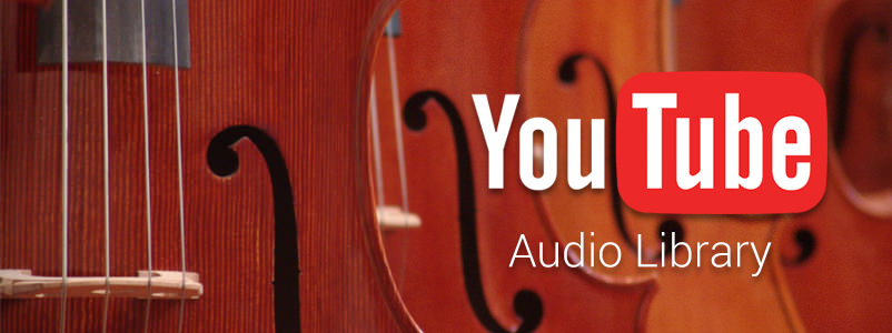 B - YouTube Audio Library banner