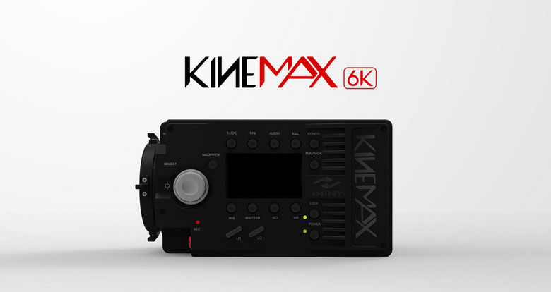 Kinefinity KineMAX 6K Sideview