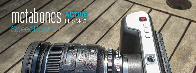 Metabones BMPCC Active Speedbooster