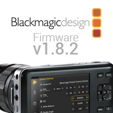 Blackmagic Camera Update v1.8.2